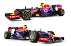 Red Bull RB10 vs. RB11 - Studiofotos - F1 2015