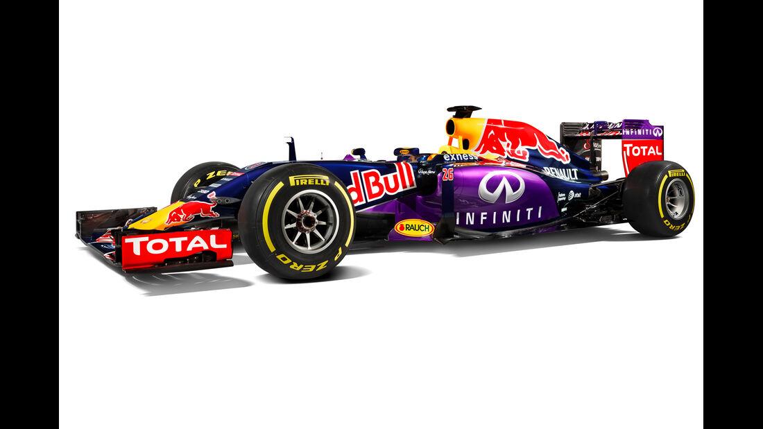 Red Bull RB11 - Studiofotos - F1 2015