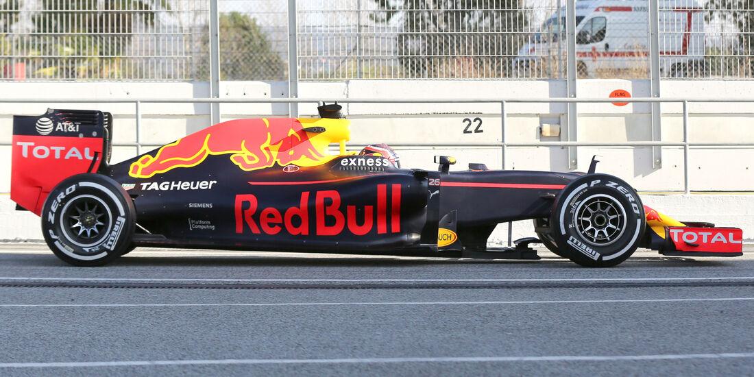 Red Bull RB12 - F1 2016 - Profil