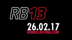 Red Bull - RB13 - Launch-Datum - 2017
