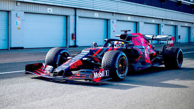 Red Bull RB15 - Shakedown - Silverstone - Formel 1 - 2019