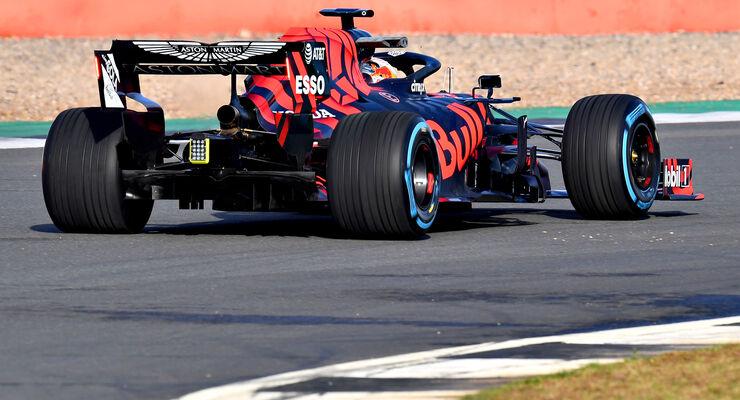 Red Bull RB15 - Shakedown - Silverstone - Formel 1 - 2019