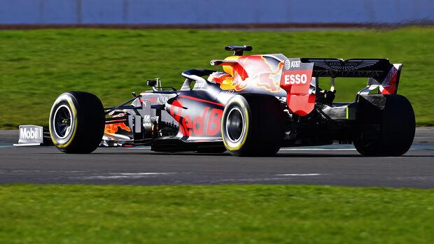 Red Bull RB16 - F1-Auto für 2020 - Shakedown Silverstone