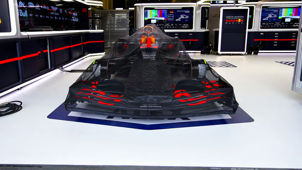 Red Bull - RB16 - Garage - Parc Fermé - 2020