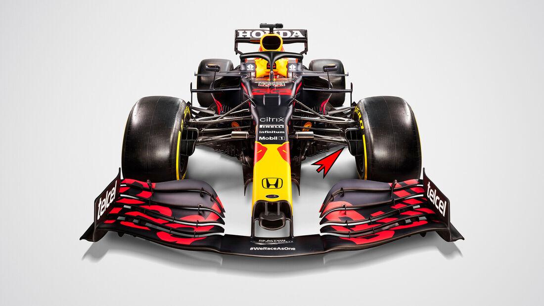 Red Bull RB16B - Formel 1 - Technik - 2021