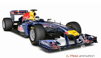 Red Bull RB7 - 3D-Animation