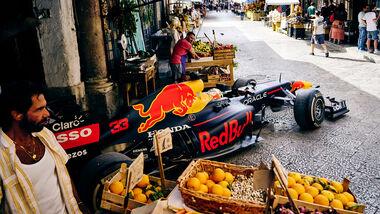 Red Bull - RB7 - Showrun - Palermo - 2021