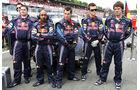 Red Bull RB7 Startaufstellung 2011