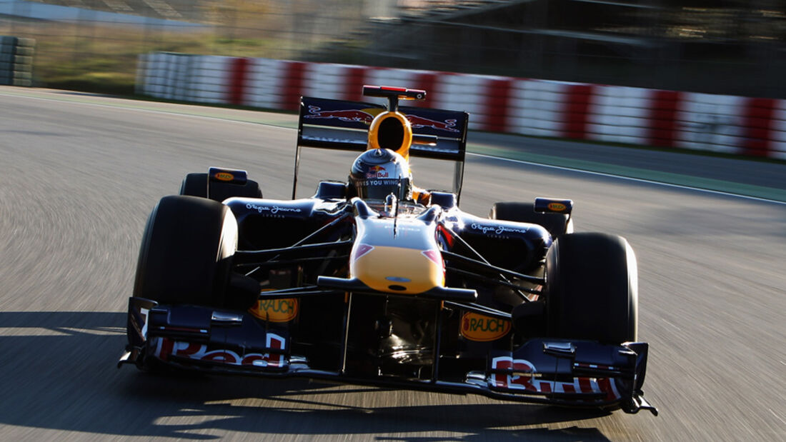 Red Bull RB7 Test 2011 Front