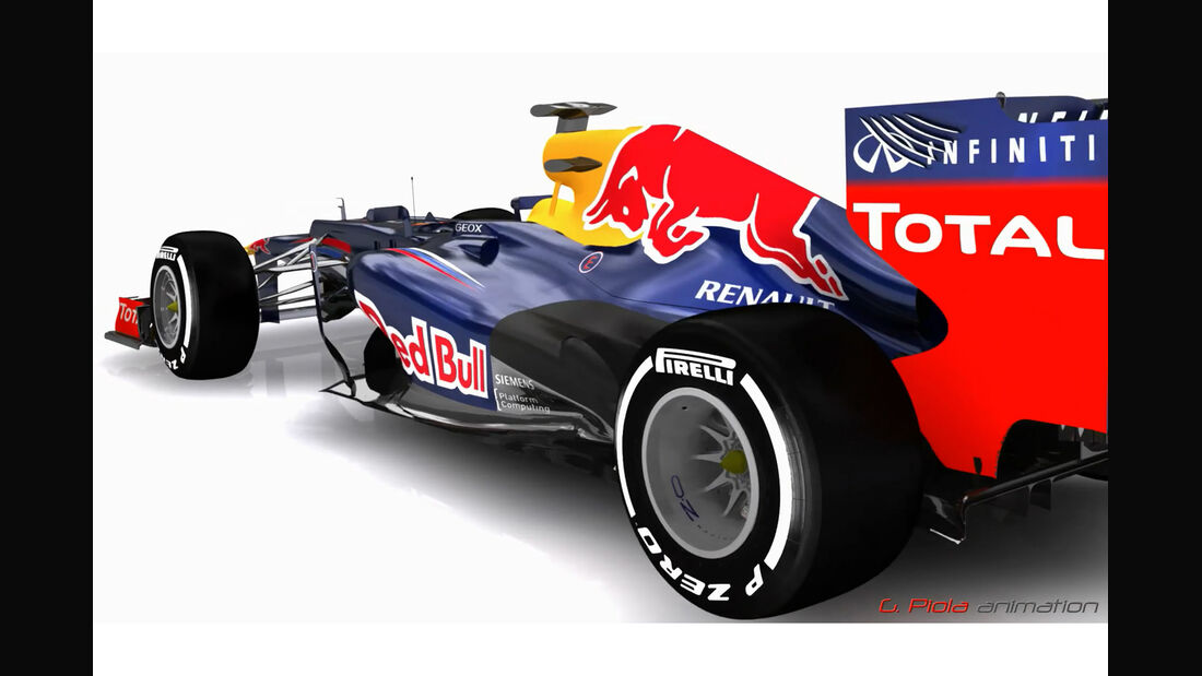 Red Bull RB8 2012 Piola Technik