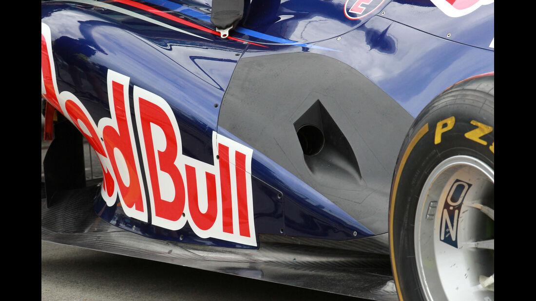 Red Bull RB8 Auspuff GP Australien 2012