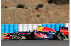 Red Bull RB8 Formel 1 Jerez 2012