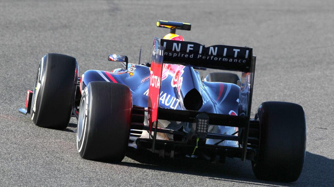 Red Bull RB8 Jerez 2012 Test