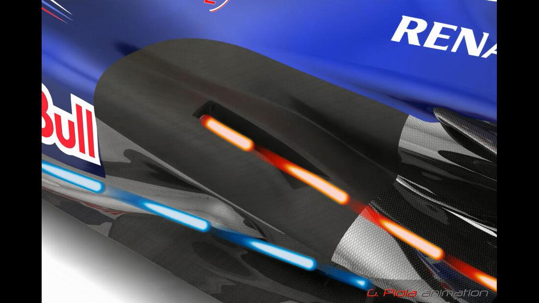 Red Bull RB8 Piola Technik 2012 F1