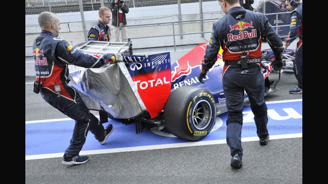 Red Bull RB8 Test 2012 F-Schacht