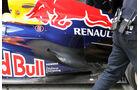 Red Bull RB8 Webber Auspuff GP China 2012