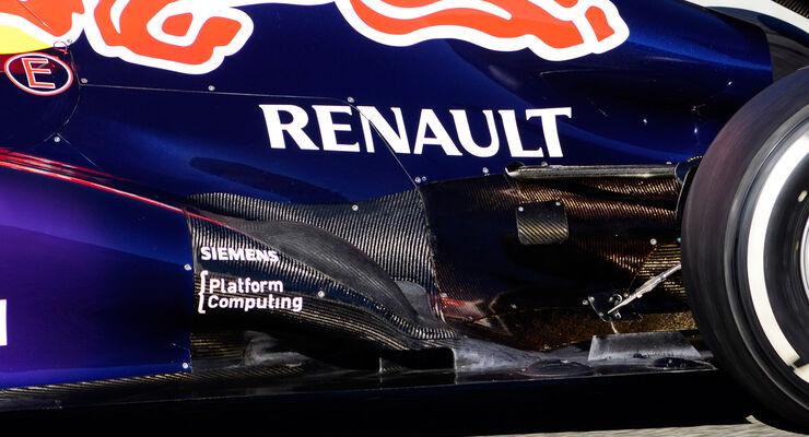 Red Bull RB9 Auspuff F1 2013