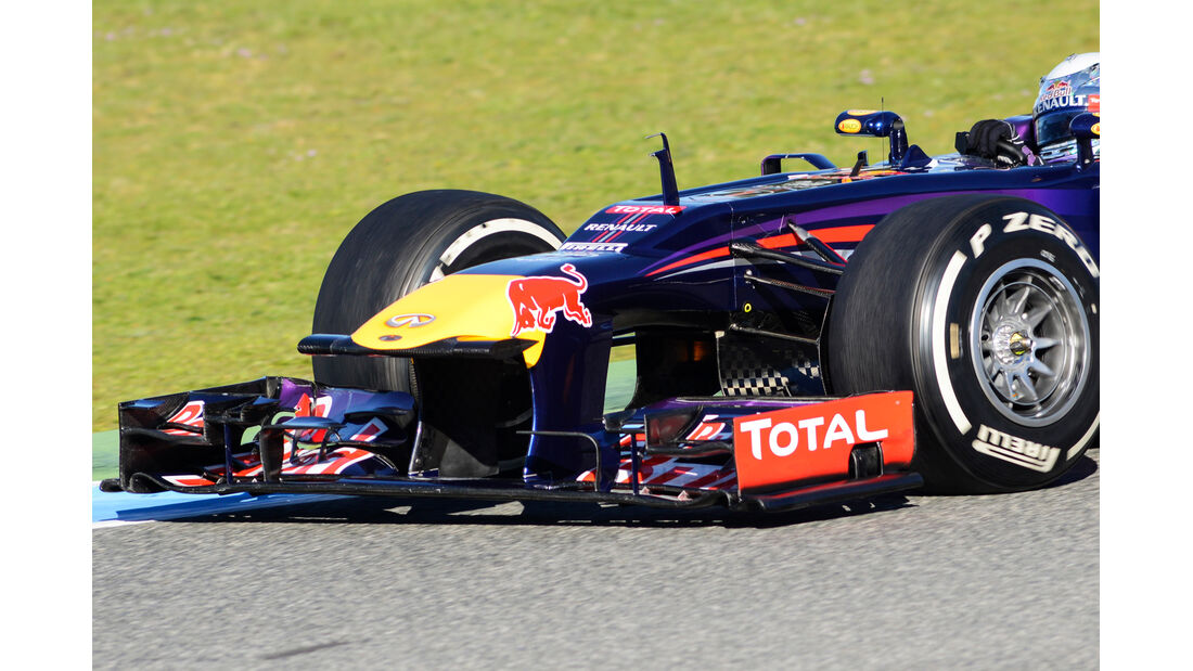 Red Bull RB9 Jerez Test F1 2013