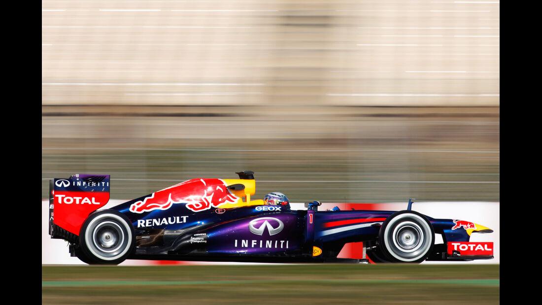 Red Bull RB9 Test 2013