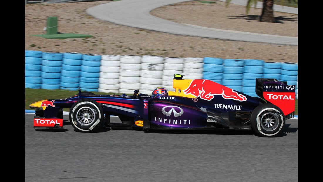 Red Bull RB9 Test Jerez 2013