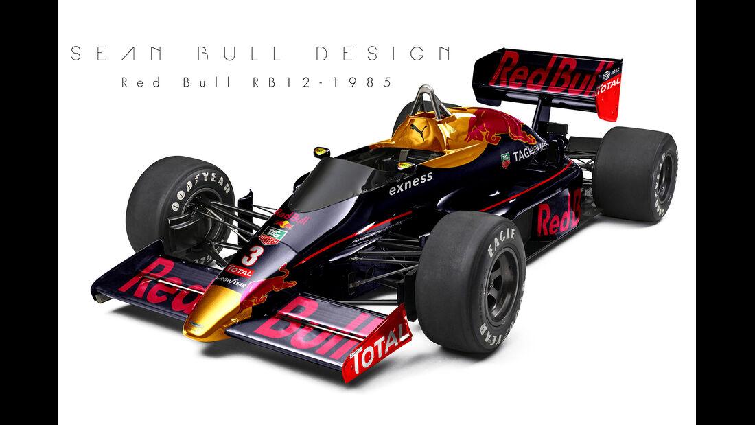 Red Bull - Retro F1 - Sean Bull