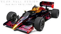 Red Bull - Retro F1 - Sean Bull
