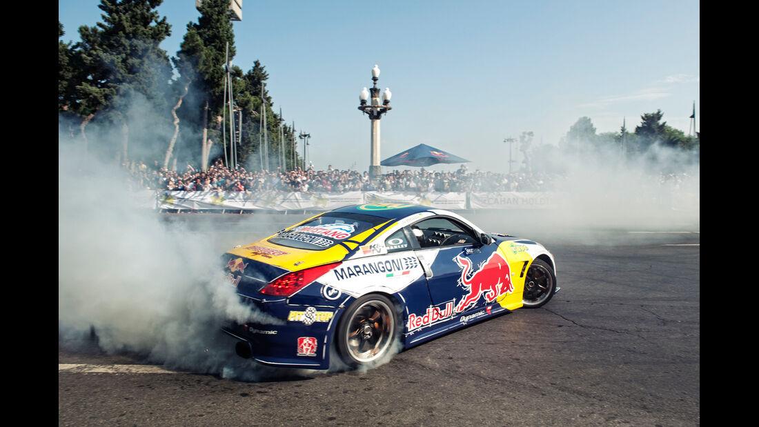 Red Bull Showrun 2012 Aserbaijan Coulthard