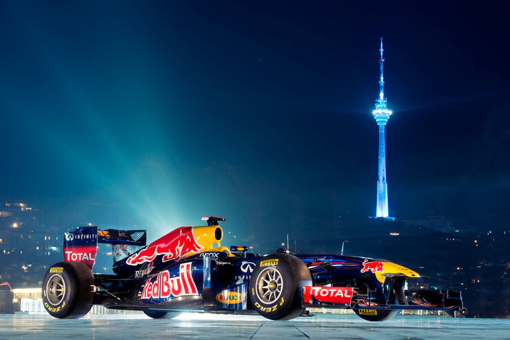 Red Bull Showrun 2012 Aserbaijan Coulthard