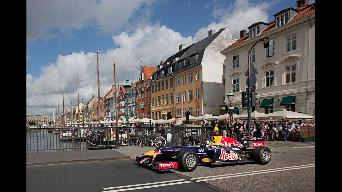 Red Bull Showrun 2012 Kopenhagen Coulthard
