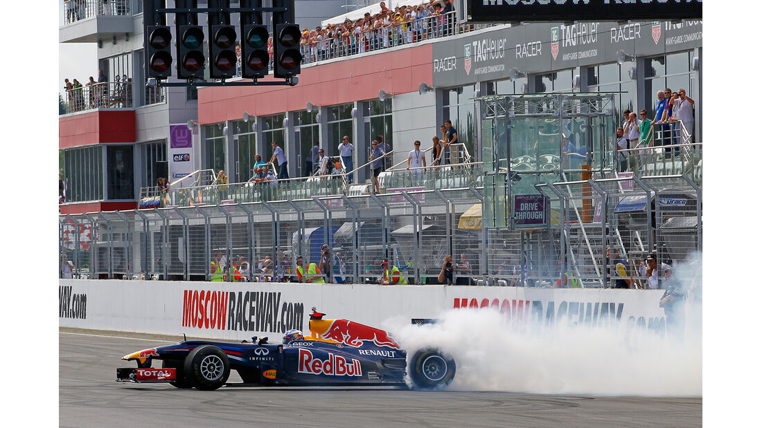Red Bull Showrun 2012 Moskau Ricciardo