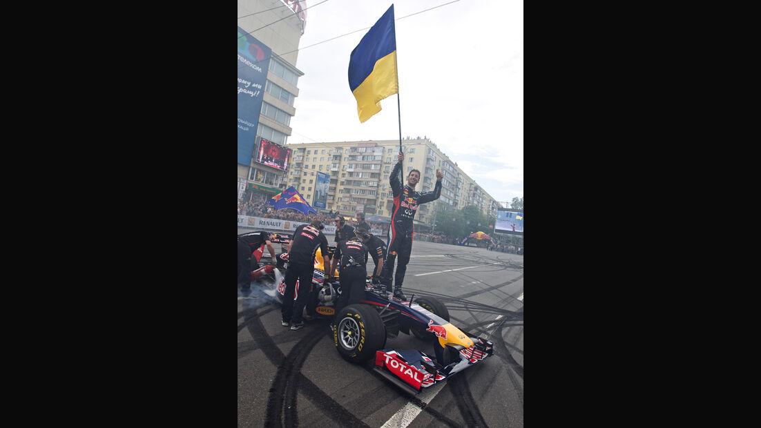 Red Bull Showrun 2012 Ukraine Ricciardo