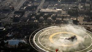 Red Bull Showrun Dubai - David Coulthard - Formel 1  - 30. Oktober 2013