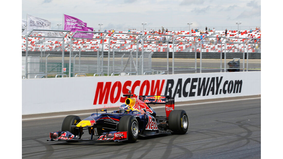 Red Bull Showrun Moskau 2012