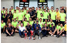 Red Bull-Siegerfoto - GP Kanada 2014