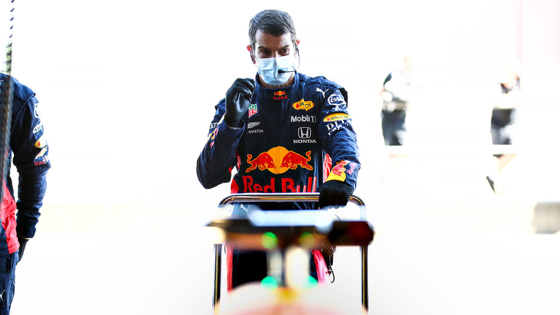 Red Bull - Silverstone - Filmtag - Donnerstag - 25. Juni 2020