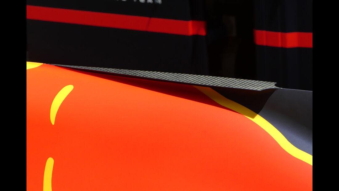 Red Bull - T-Flügel - F1-Technik - GP Monaco 2017