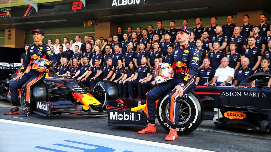 Red Bull - Teamfoto - GP Abu Dhabi - Formel 1 - Donnerstag - 28.11.2019
