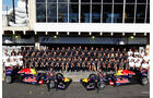 Red Bull Teamfoto GP Brasilien 2011