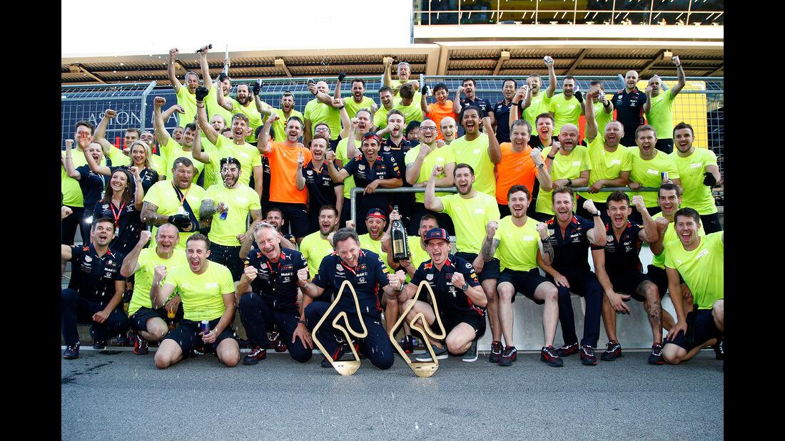 Red Bull - Teamfoto - GP Österreich 2019