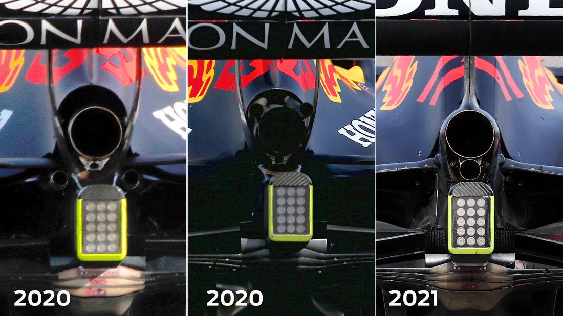Red Bull - Technik-Details - Formel 1 - 2021
