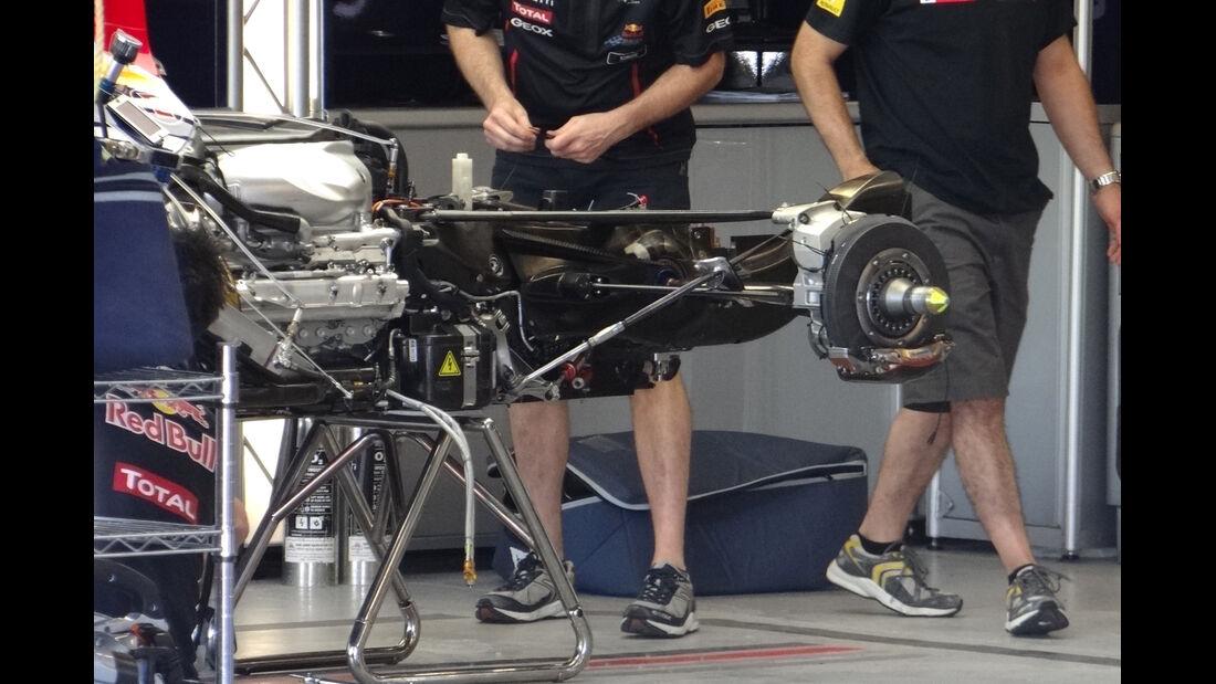 Red Bull-Technik - Formel 1 - GP Kanada - 7. Juni 2012