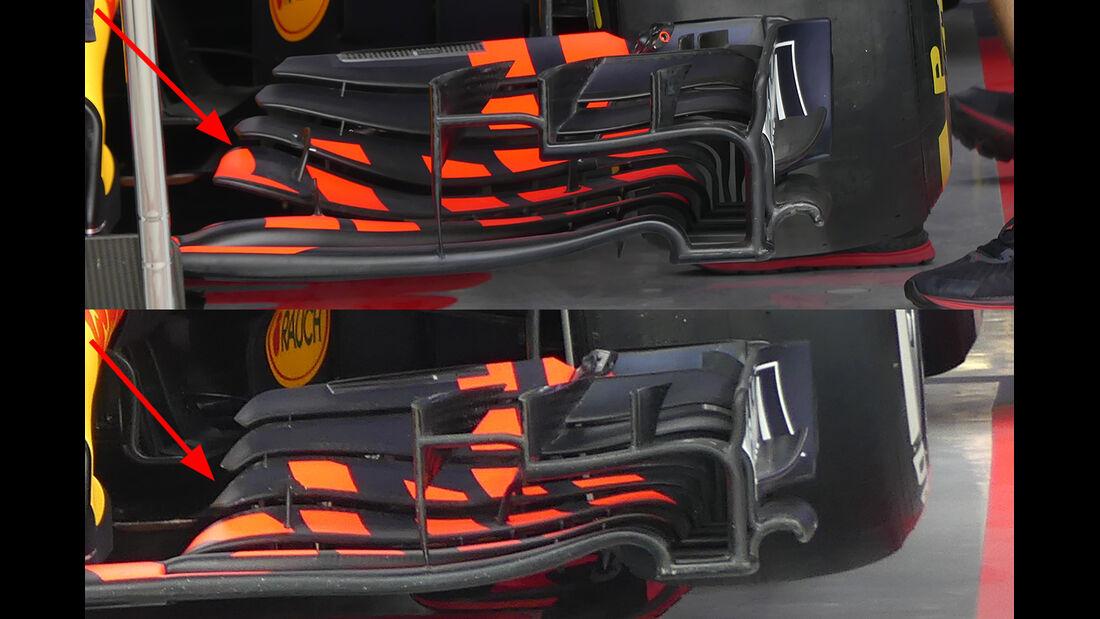 Red Bull - Technik - GP China / GP Bahrain - F1 2018