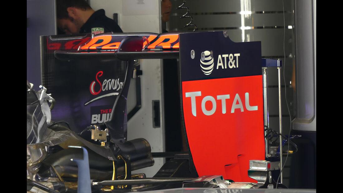 Red Bull - Technik - GP Italien 2016