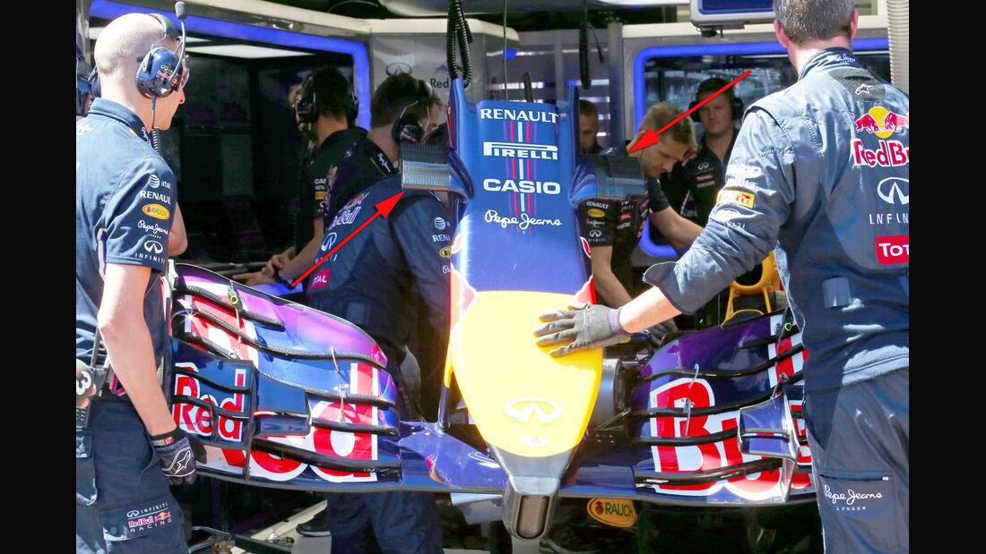 Red Bull - Technik - GP Monaco 2014