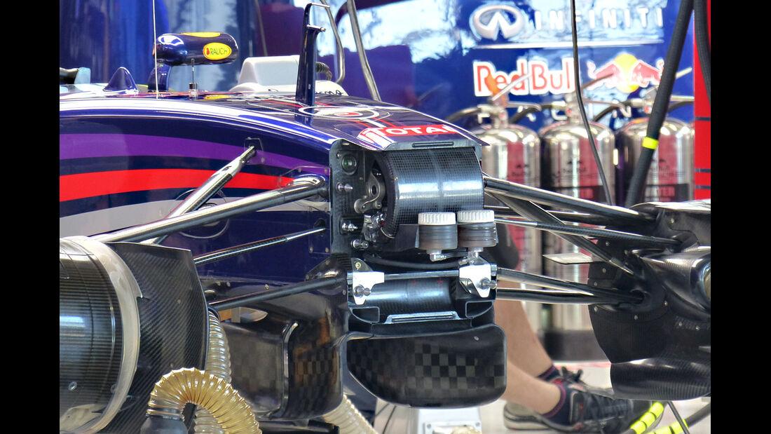 Red Bull - Technik - GP Russland 2014
