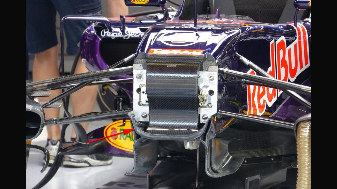 Red Bull - Technik - GP Spanien 2015