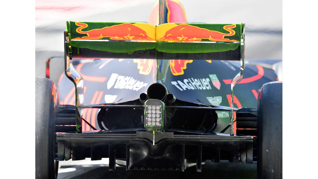 Red Bull - Technik - GP Spanien 2017
