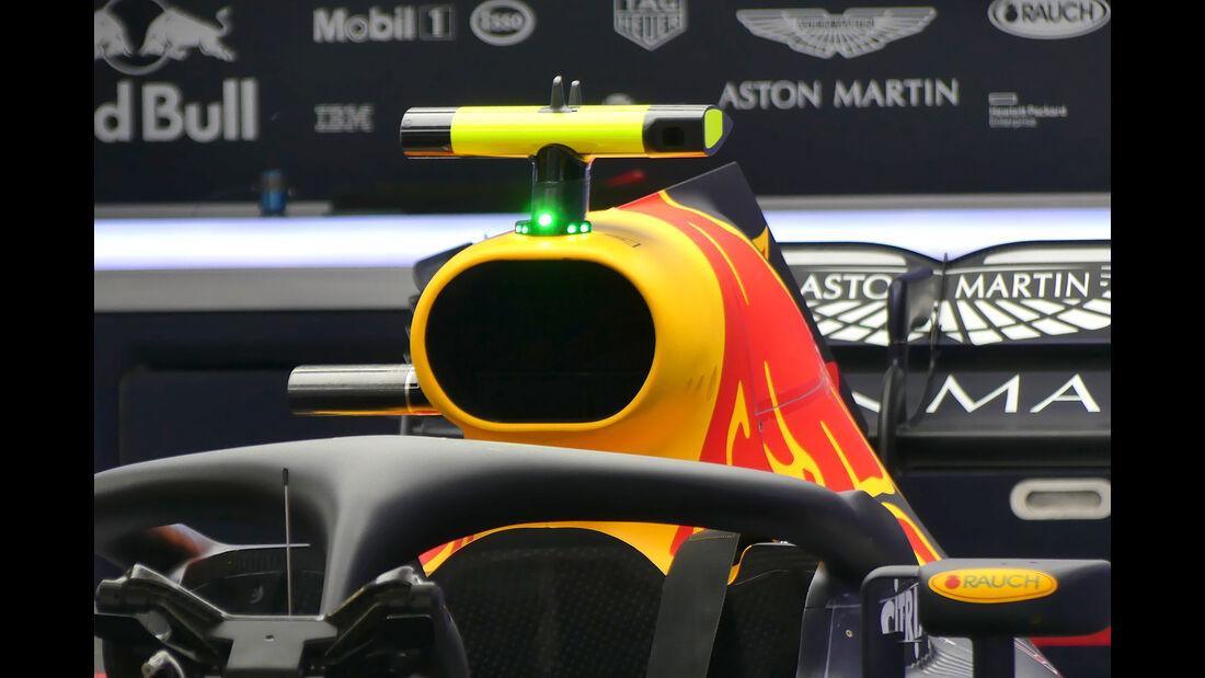 Red Bull - Technik - GP Spanien 2018