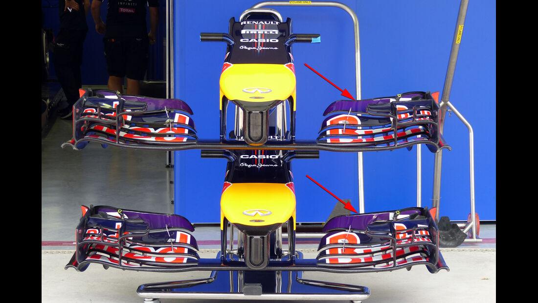 Red Bull - Technik - GP USA/Brasilien 2014
