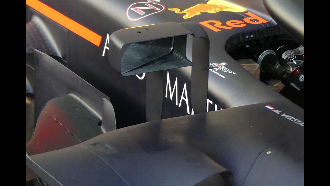 Red Bull - Technik-Upgrades - GP Australien 2018